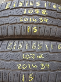 Michelin Agilis Alpin 107R(2014.39) 215/65 R16C