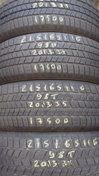 Continental Cross Contact 98T(2013.35) 215/65 R16
