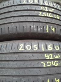 Continental ContiEco Contact5 92W(2016.19) 205/60 R16