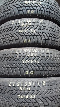 Michelin Latitude Alpin 99H(2018.28) 215/55 R18