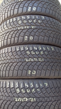 Kumho WinterCraft WP71 94V XL(2017.21) 225/45 R17