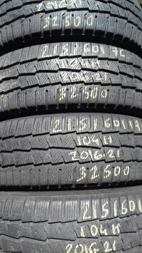 Michelin Agilis Alpin 104H(2016.21) 215/60 R17C