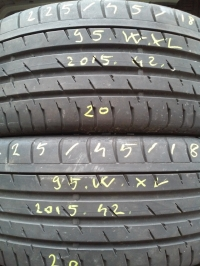 Continental ContiSportContact3 95W XL(2015.42) 225/45 R18